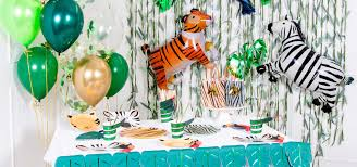 Jungle Party Decorations & Supplies   <b>Animal Party</b>   Party Pieces