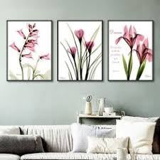 $2.99 <b>Nordic</b> Modern Watercolor Canvas Pictures Crown Couple ...