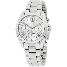 Купить <b>часы Michael Kors</b> Bradshaw Quartz Movement Silver Dial ...