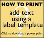 How to Print on <b>Labels</b> with Templates | A4Labels