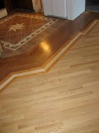 Hardwood Or Tile In Kitchen Transition Between Hardwood And Tile Floor We Should Do This
