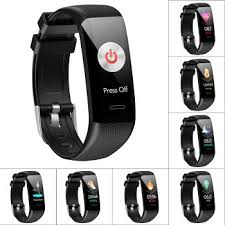 <b>C20 Smart Bracelet</b> Step Counter Heart Rate Blood Pressure Monitor