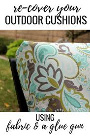 measure patio cushions no sew project how to recover your outdoor cushions using fabric and a