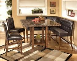 astonishing modern dining room sets: best ashley furniture dining room sets prices astonishing modern dining room ideas with granite dining table and black leather dining chairs on cleaning