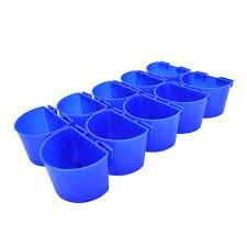 10 <b>pcs</b> Cup Hanging Water Feed Cage Cups <b>Poultry</b> Gamefowl ...