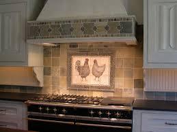 Kitchen Tile Backsplash Murals Kitchen Modern White Leaf Murals Kitchen Design Inspiration With