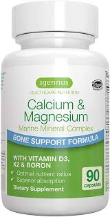 <b>Calcium</b> & <b>Magnesium</b> Bone Support Mineral <b>Complex with</b> Boron ...