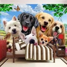 Buy <b>cute dog</b> wallpaper and get <b>free shipping</b> on AliExpress