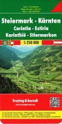 Austria, <b>Styria</b> and <b>Carinthia</b> by Freytag, Berndt und Artaria