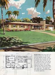 Charming rancher floor plan bliss from    vintage  house    Charming rancher floor plan bliss from    vintage  house  plans