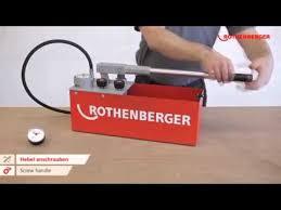 <b>Опрессовщик</b> ROTHENBERGER RP 50-S 60200 - YouTube