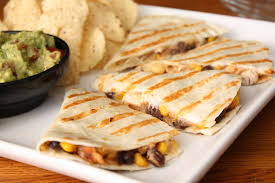 Image result for black bean corn quesadilla