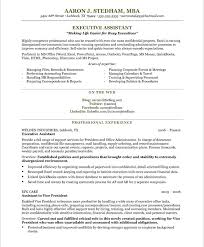 Sample Executive Resume Templates Free   Resume Sample Information Template net