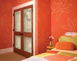 Orange Bedroom Wallpaper Doors Best Traditional French Interior Doors For Vibrant Color