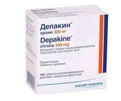 <b>Депакин ХРОНО</b> тб <b>300мг</b> N 100 купить в Пермь, описание и ...