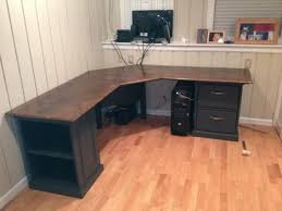 diy l shaped desk sketchup model fabricated cabinet component fit up component fit bathroombeauteous great corner office desk