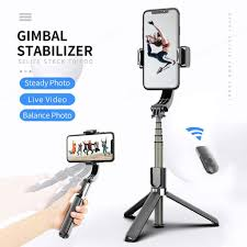 Handheld <b>Gimbal Stabilizer</b> Anti-Shake Selfie Stick <b>Bluetooth</b> ...