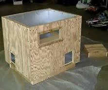 Superb Feral Cat House Plans   Insulated Outdoor Cat Houses For    Superb Feral Cat House Plans   Insulated Outdoor Cat Houses For Winter
