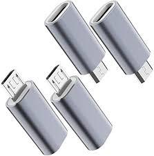USB C to Micro USB Adapter, (4-Pack) Type C ... - Amazon.com