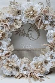beautiful diy shabby chic wreath beautiful shabby chic style
