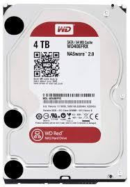 <b>Жесткий диск Western Digital WD</b> Red 4 TB (WD40EFRX) — купить ...