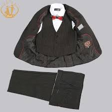 <b>Nimble</b> Black <b>Suit for Boy</b> Costume Enfant Garcon Mariage Single ...