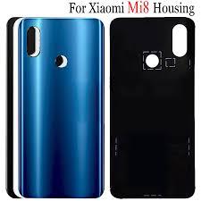 <b>Original New Xiaomi</b> Mi 8 Battery Cover Mi8 Explorer Back Glass ...