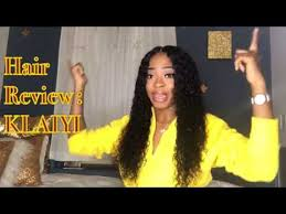 klaiyi hair brazilian kinky curly 3 bundles with closure 4pcs lot remy weave human