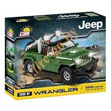 "Пластиковый <b>конструктор COBI</b> ""Джип <b>Jeep Wrangler Military</b> ..."