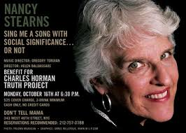 and October 16, 2006 (benefit performance for the Charles Horman Truth Project) - NancyStearns_October2006