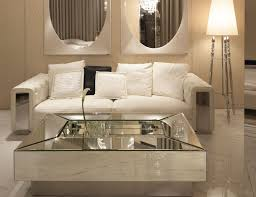 modern minimalist living room with mirrored furniture beautiful living room furniture designs