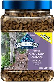 Blue Buffalo Wilderness Grain Free Crunchy Cat ... - Amazon.com