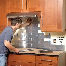 kitchen backsplash stainless steel tiles: view in gallery stainless steel kitchen view in gallery