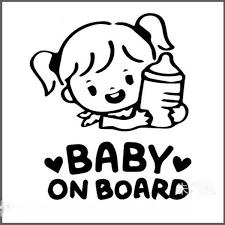 2019 <b>Car</b> Reflective Warning Decals <b>14cm*11cm</b> Baby On Board ...