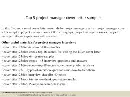top  project manager cover letter samplestop  project manager cover letter samples in this file  you can ref cover letter