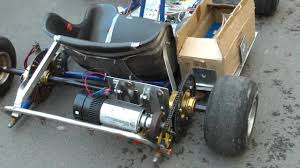 1000 Watt <b>Electric</b> Go Kart Homemade - YouTube