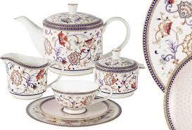 "<b>Сервиз чайный</b> Anna Lafarg Emily ""<b>Королева</b> Анна"", 21 предмет ..."