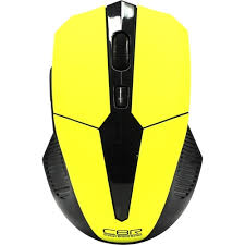 <b>Беспроводная Мышь CBR Wireless Mouse</b> CM547 Yellow Yellow ...