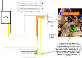 h d wiring and connection questions x post from zenmuse dji here is a diagram that i made up for someone else this included installing the ez osd module which i recommend it s a great 60 investment
