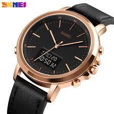 SKMEI Digital Quartz <b>Men</b> Watches Sports Chrono <b>Dual Display</b> ...