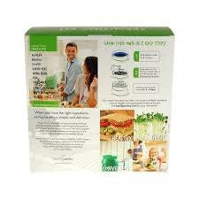 Kitchen Garden Sprouter Handy Pantry Sprout Garden 3 Tray Sprouter Sg52 Bpa Free