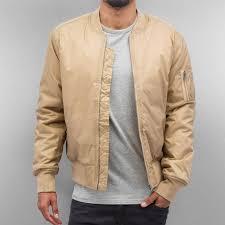 <b>Urban Classics Basic</b> Bomber <b>Jacket</b> Beige