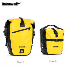 Rhinowalk <b>TPU Waterproof</b> MTB <b>Cycling Bicycle Bike</b> Rear <b>Seat</b> ...