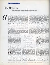 american film henson closes the interview by saying there are still a lot of things to do sadly he died of pneumonia the following year