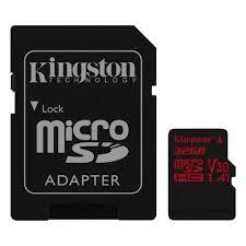 <b>Карта памяти Kingston</b> Canvas React microSDHC 32Gb UHS-I U3 ...