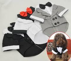 <b>2015 New Pet Clothes</b> Puppy Shirt Dog Wedding Tuxedo Western ...