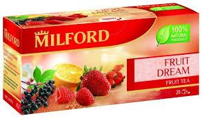 Чай красный <b>Milford</b> Fruit dream в пакетиках — купить по ...