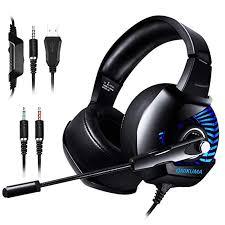 K6 Professional Wired <b>Gaming Headset</b> LED RGB Lighting ...