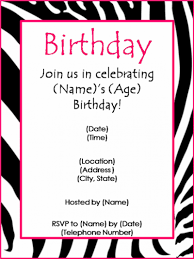 invitations for birthday party templates com invitations for birthday party templates
