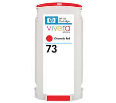 <b>HP</b> No.<b>73</b> Ink Cartridge <b>Chromatic</b> Red 130ml (<b>Vivera</b>) (CD951A ...